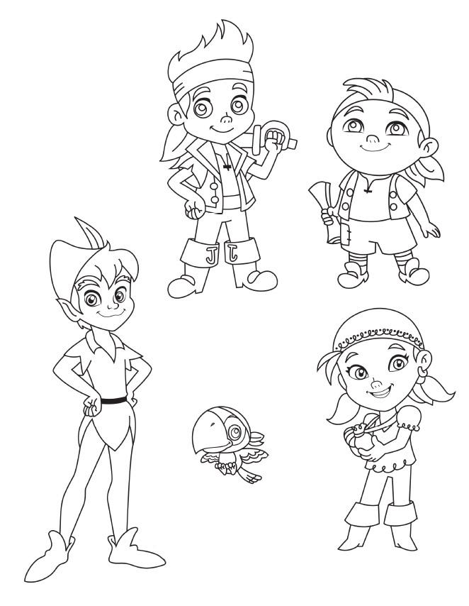 Dibujos De Piratas Coloreados - AZ Dibujos para colorear