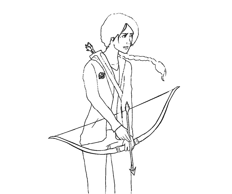 hunger games coloring pages printable - photo#15