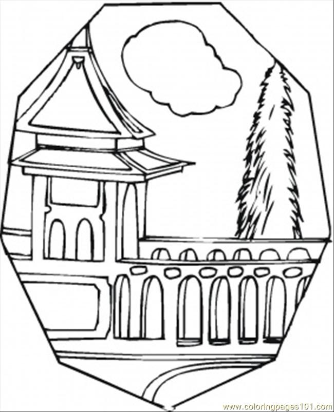 Free Coloring Pages Of Tower Bridge London