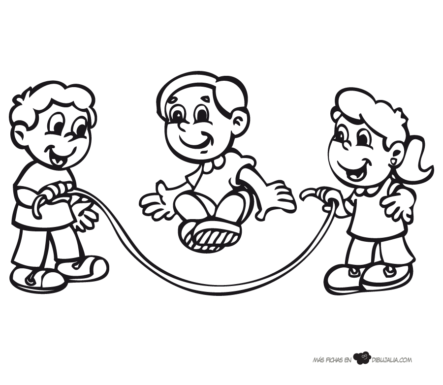 juegos tradicionales Colouring Pages (page 3)