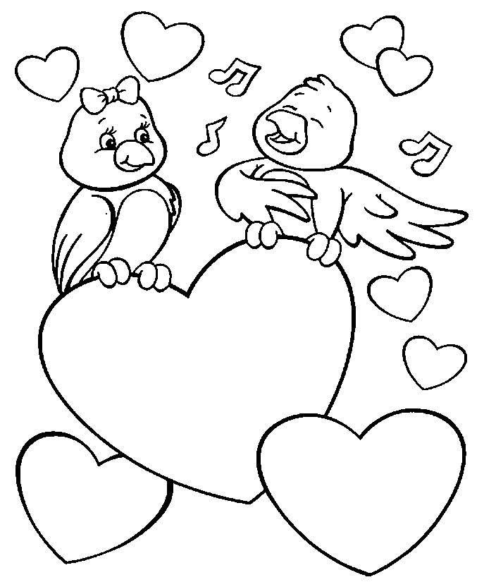 Valentine's Day Coloring - Android Apps on Google Play