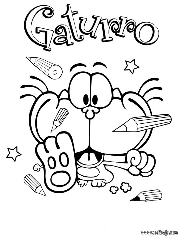 LAMINAS PARA COLOREAR - COLORING PAGES: noviembre 2011