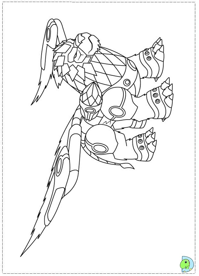 colorear gormiti Colouring Pages