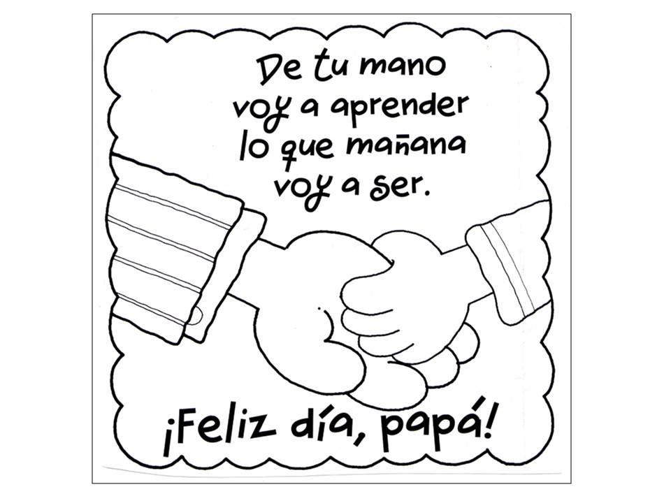 Pin Feliz Dia Del Padre Para Colorear Letrero Pintar Madre Source ...