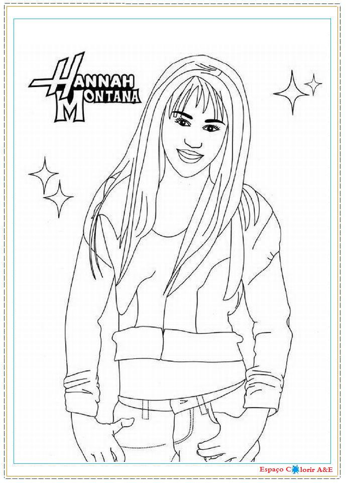 Pin Coloriage Hannah Montana Coloriages Imprimer on Pinterest