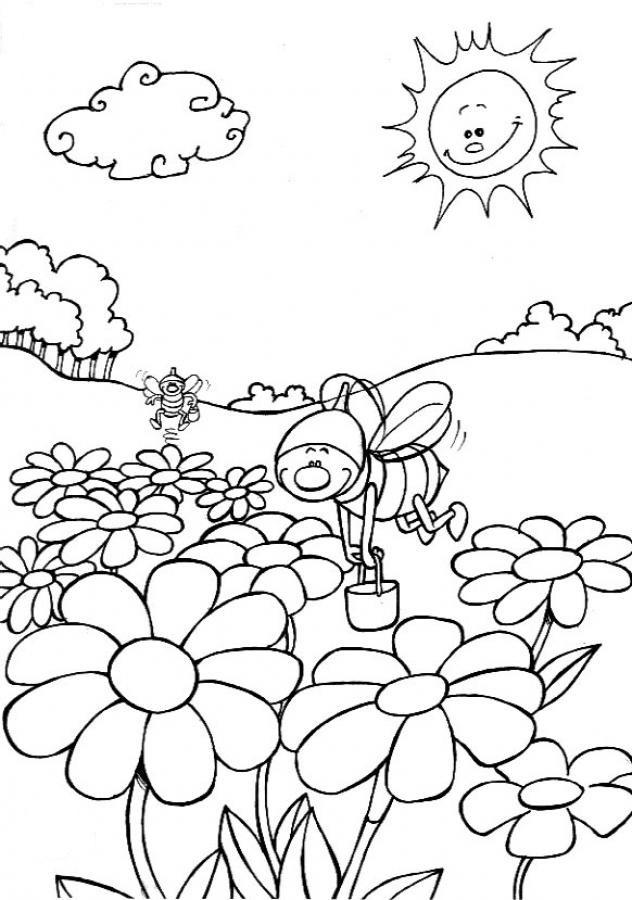 Paisajes Infantiles Para Colorear Az Dibujos Para Colorear