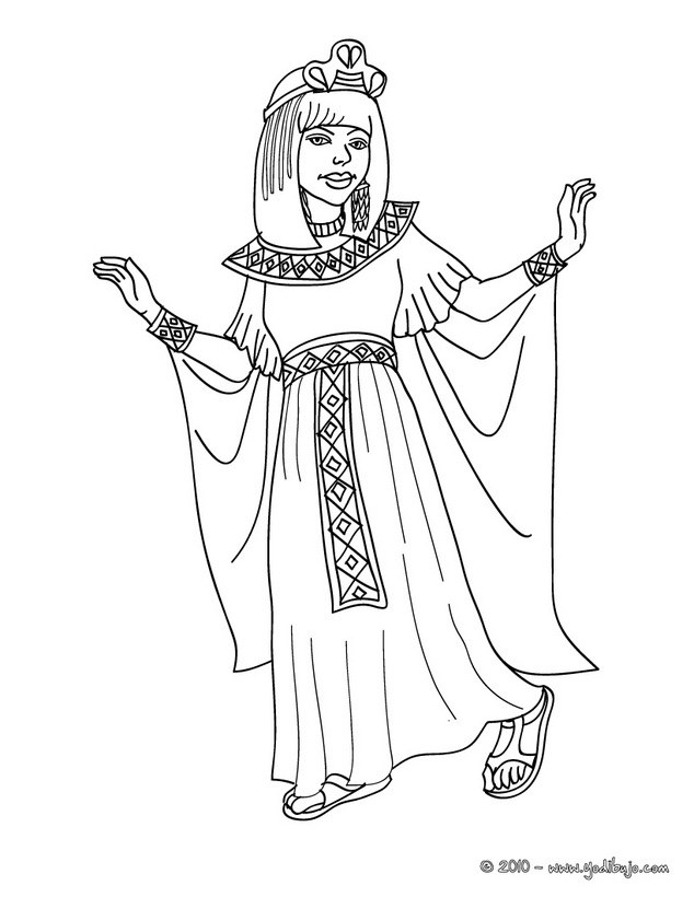 Egipto Colorear - AZ Dibujos para colorear