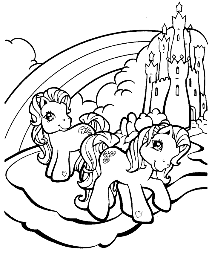 DE PONIS Colouring Pages