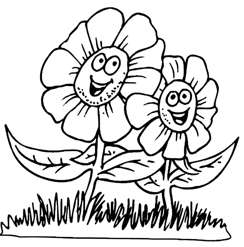 primavera para niños Colouring Pages