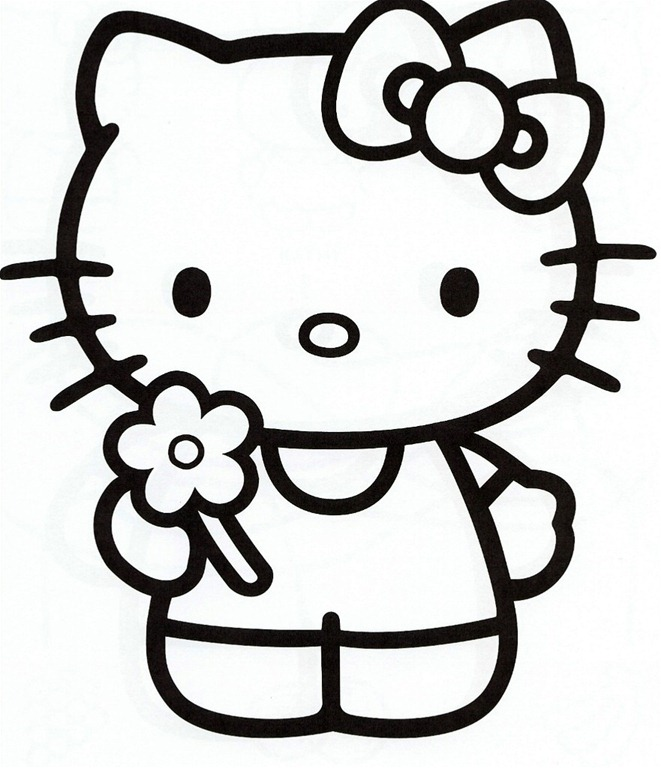 Hello Kitty Stencil Printable - ClipArt Best