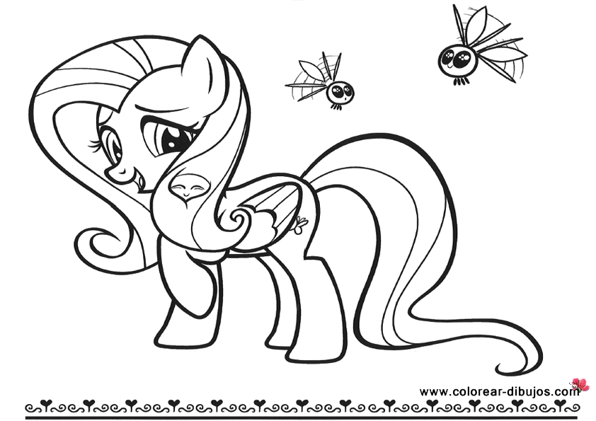 Dibujos para colorear de caballos pony ideas creativas for Tiara club coloring pages