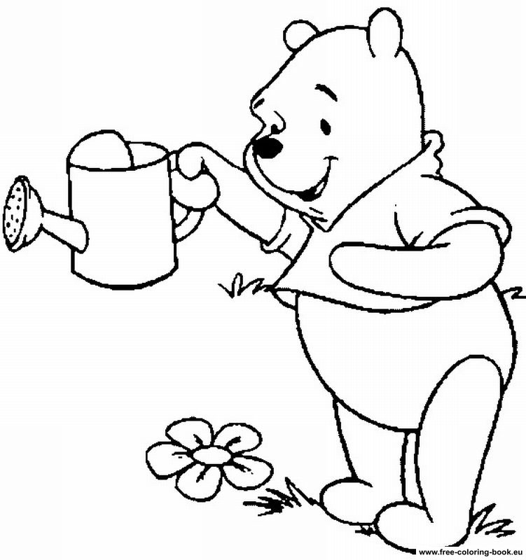 pooh to coloriar Colouring Pages