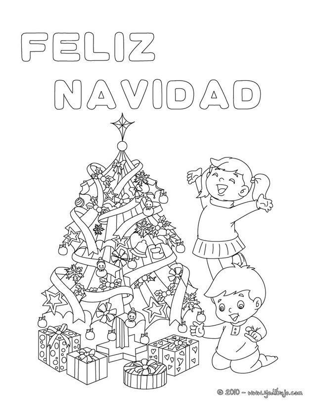 Dibujos De Navidad Para Colorear En El Ordenador Az Dibujos Para
