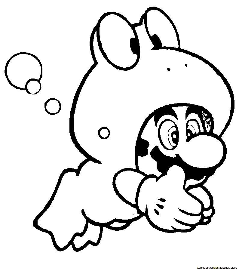 Dibujos Para Colorear De Super Mario Bros - AZ Dibujos para colorear