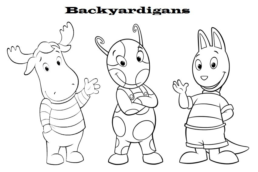 Backyardigans Coloring Pages - Coloring For KidsColoring For Kids ...