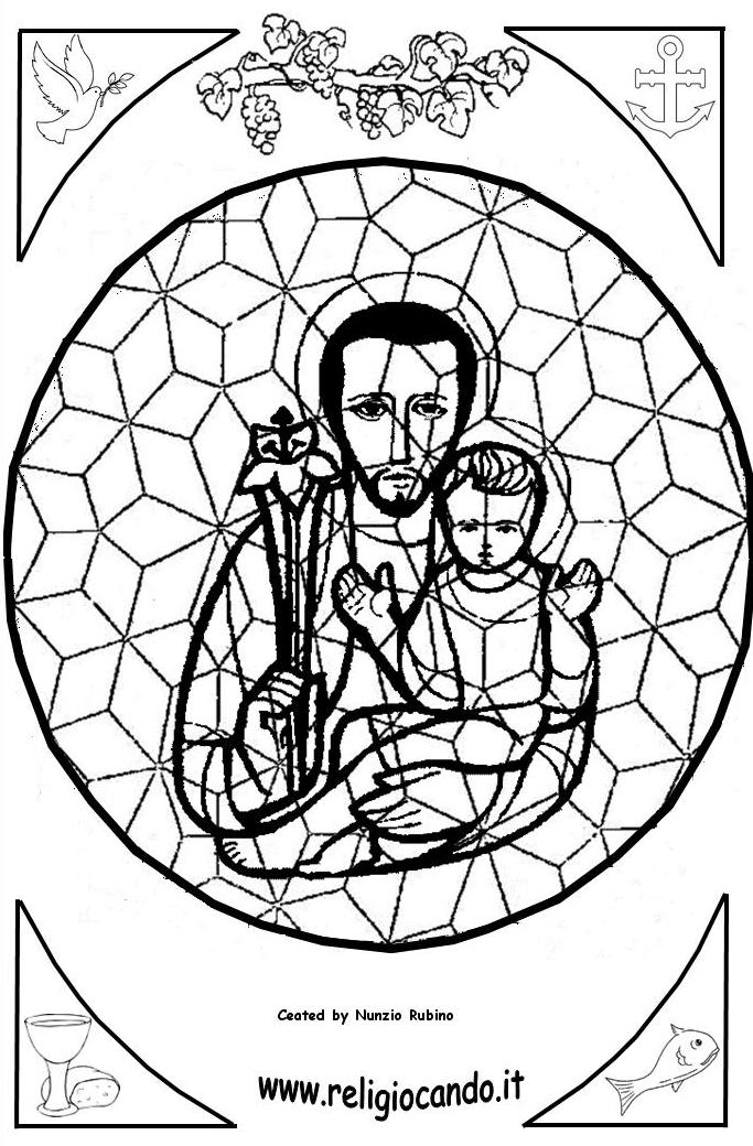 imm mosaics Colouring Pages