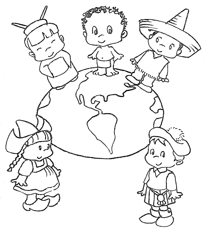 las americas Colouring Pages