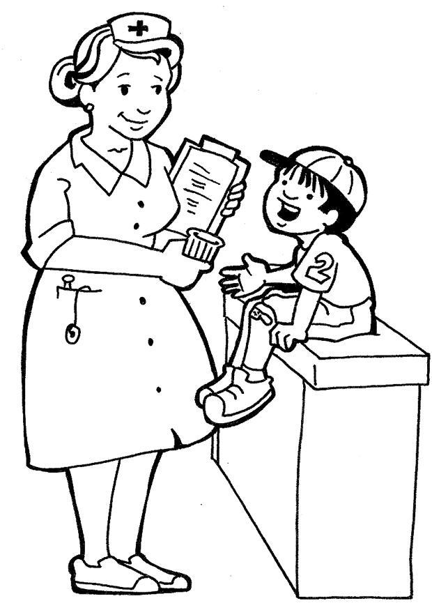 Dibujos Enfermeras Para Colorear Az Dibujos Para Colorear