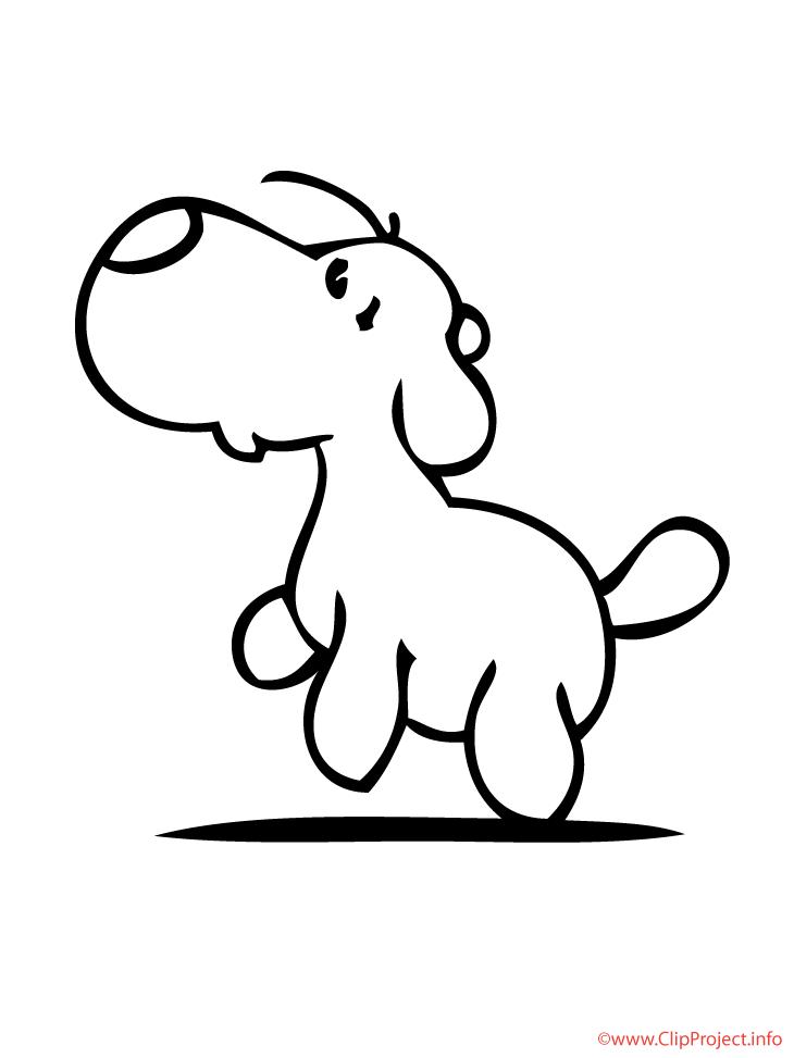 Dibujo Colorear Perro - AZ Dibujos para colorear