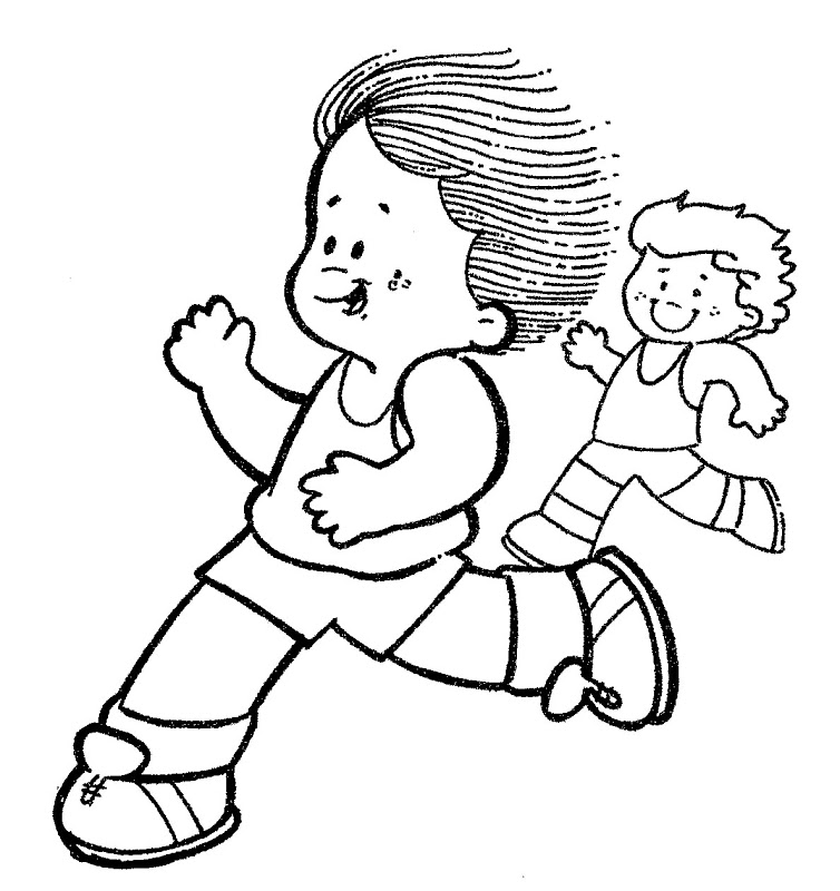 marathon - free coloring pages | Coloring Pages