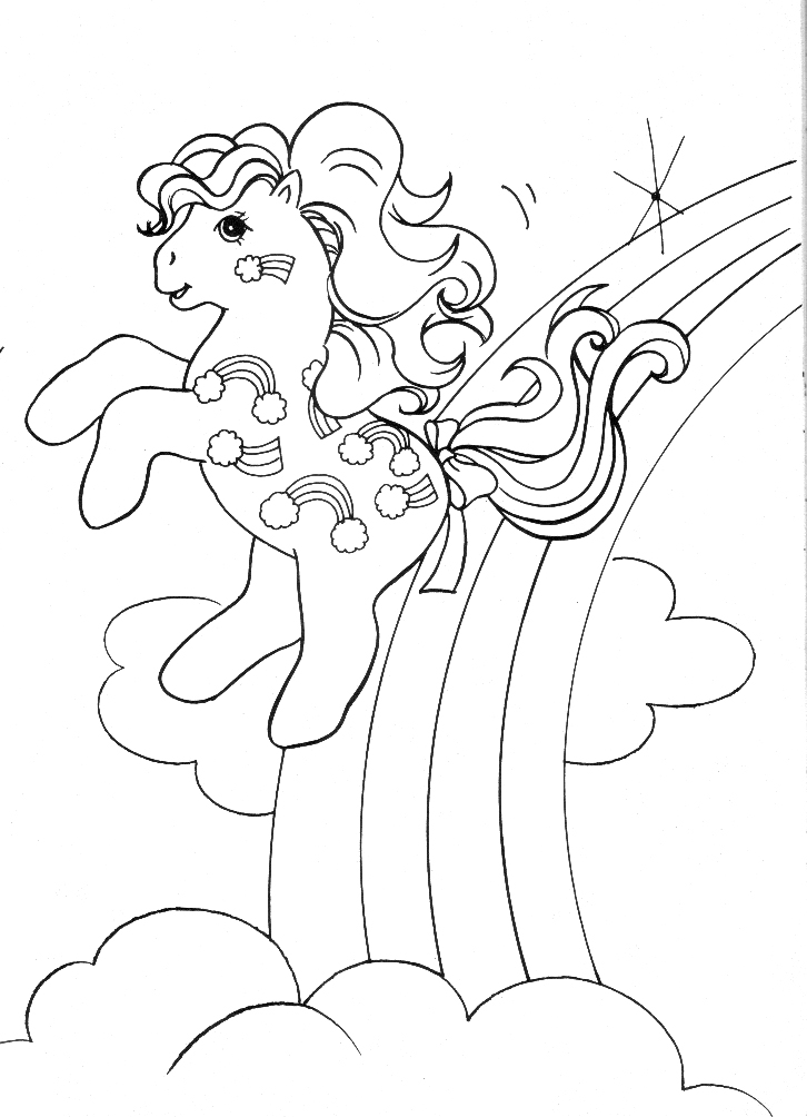 DIBUJOS DE MY LITTLE PONY:::