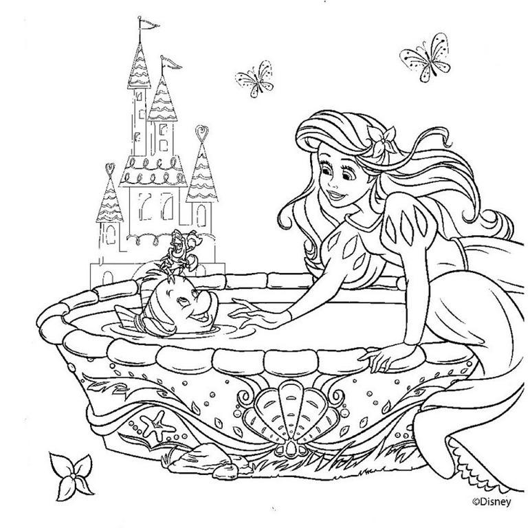princesas pintura Colouring Pages (page 3)