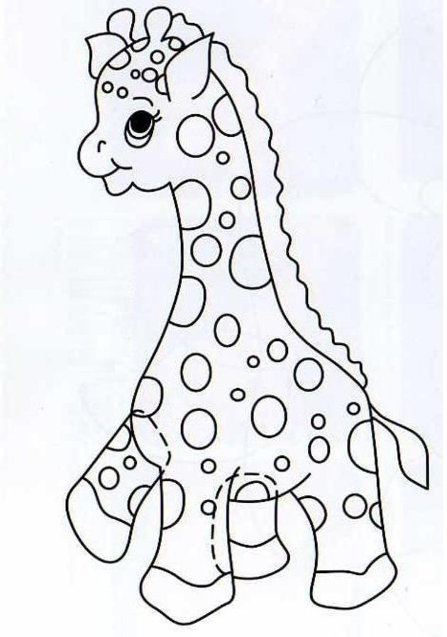 Patrones Para Bebes - AZ Dibujos para colorear