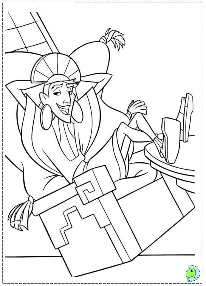 emporer Colouring Pages (page 3)