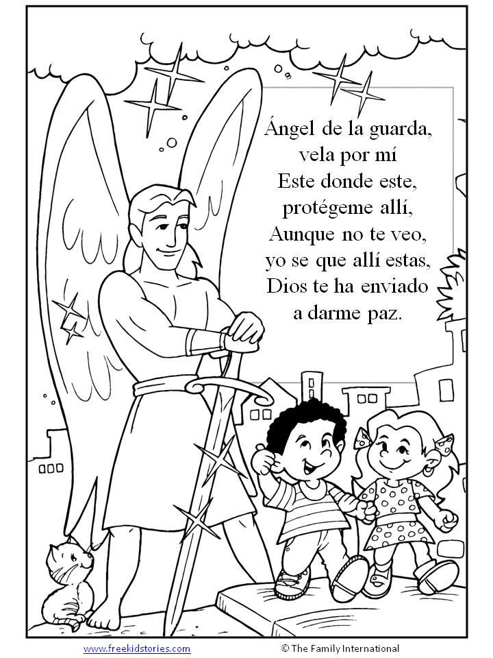Biblia Para Niños Para Colorear - AZ Dibujos para colorear