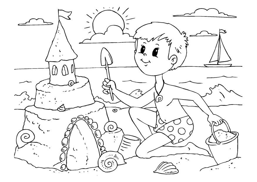 Dibujos Verano Para Niños   AZ Dibujos para colorear