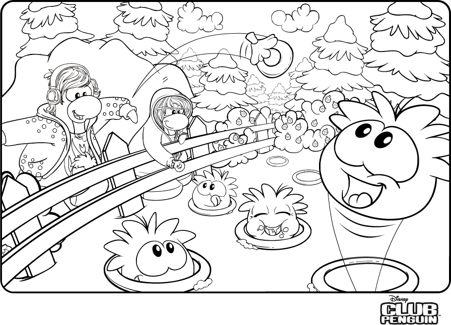 penguin para colorear Colouring Pages (page 2)