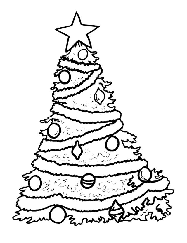 Pinturas para dibujar free dibujo colorear best corazn for Dibujo arbol navidad