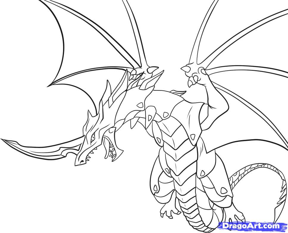 l drago coloring pages - photo #20