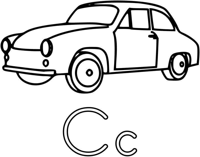 Car Coloring Pages | Coloring Pages To Print