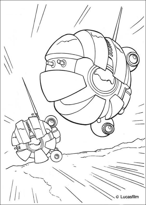 Dibujos De Star Wars The Clone Wars Para Colorear - AZ Dibujos para ...