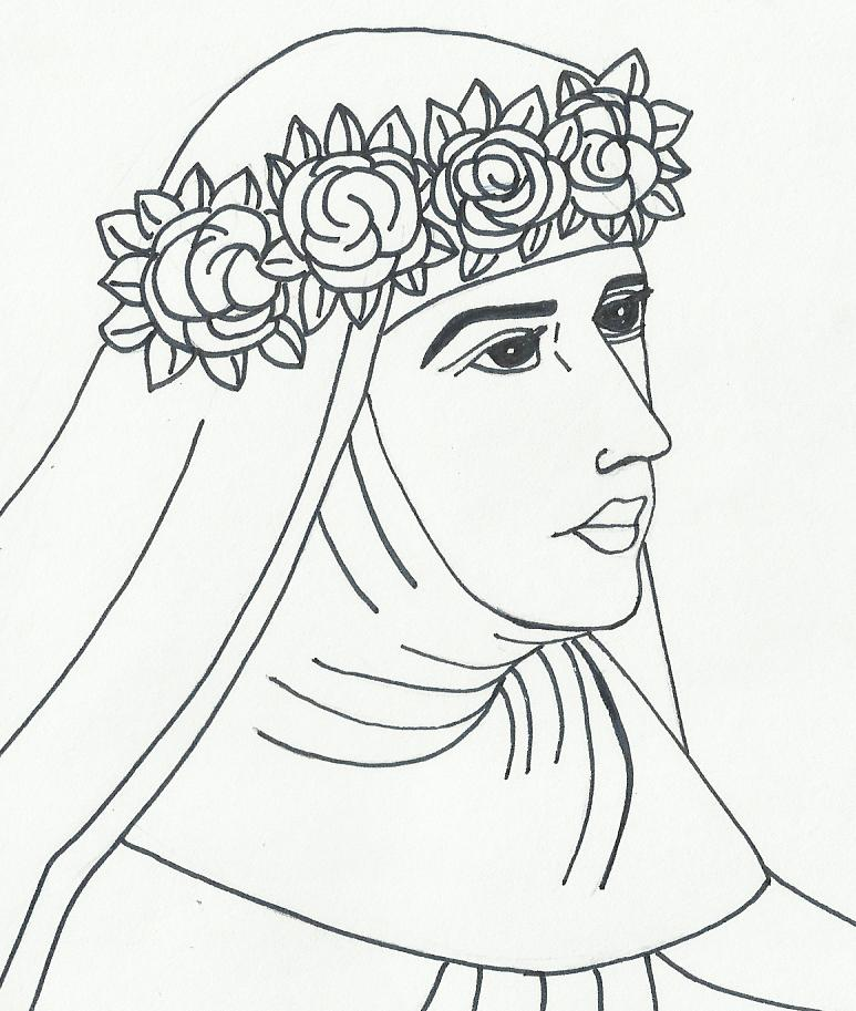 Imagenes De Rosas Para Colorear Az Dibujos Para Colorear