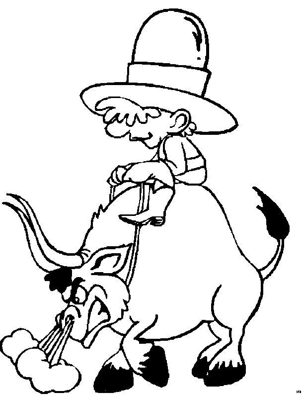 Dibujos De Toros Para Colorear - AZ Dibujos para colorear