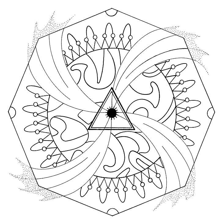 Formas Para Colorear - AZ Dibujos para colorear