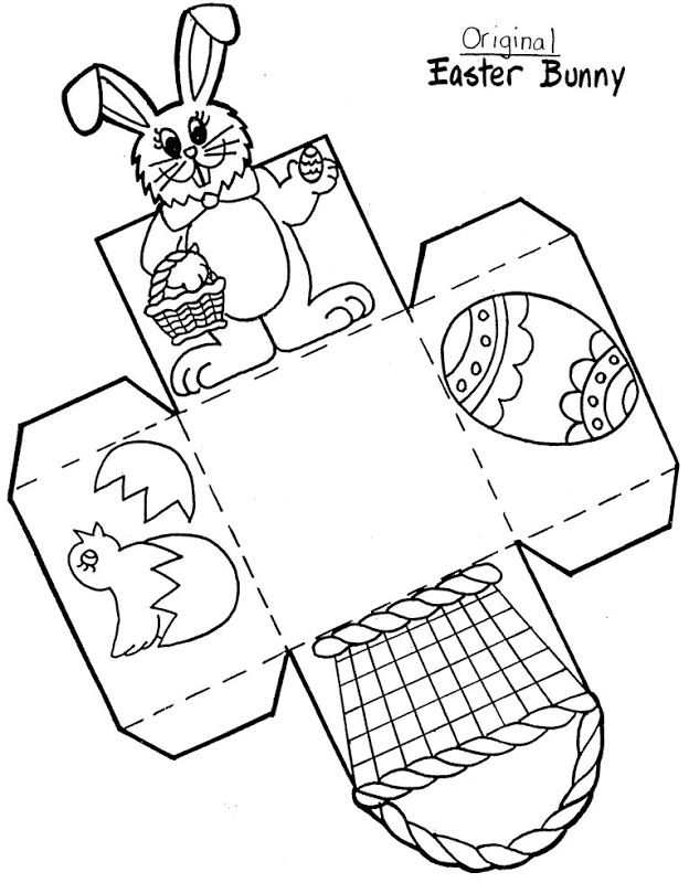 Recortables Para Niños Para Imprimir - AZ Dibujos para colorear