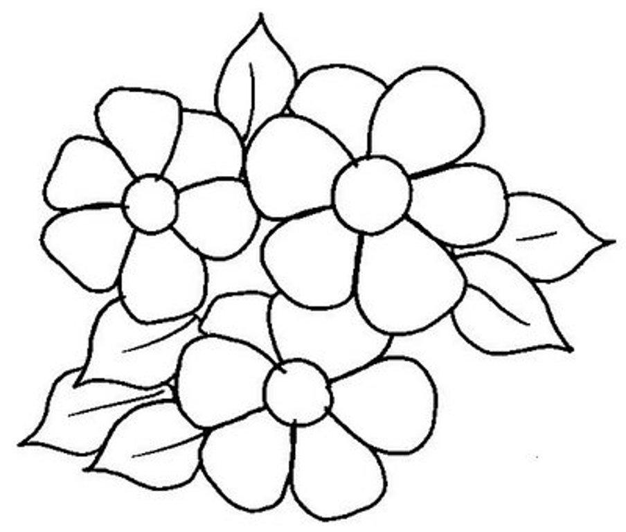Dibujos Para Colorear De Flores De Primavera - AZ Dibujos para colorear