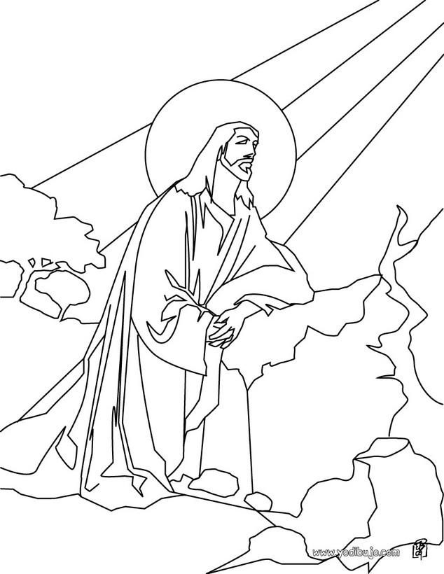 Dibujos De Jesus Para Colorear Az Dibujos Para Colorear