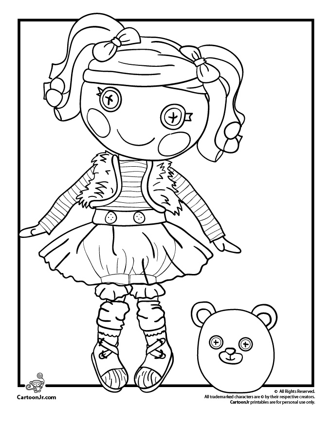 Lalaloopsy Coloring Pages | Coloring Pages For Girls Online ... - AZ ...