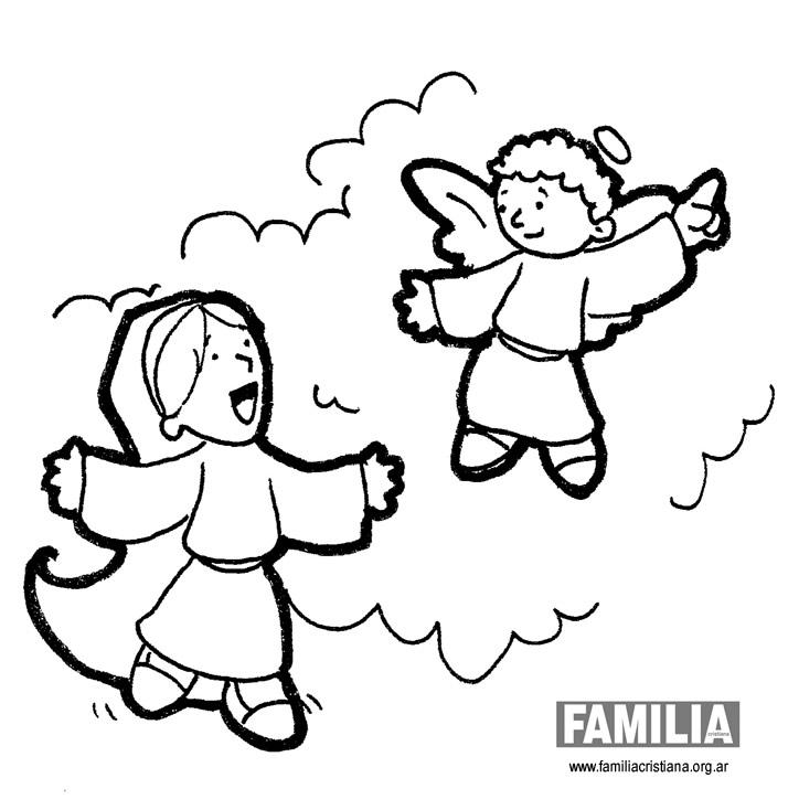 Familia Cristianade Paulinas  AZ Dibujos para colorear