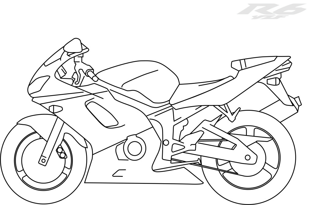 r 6 Colouring Pages