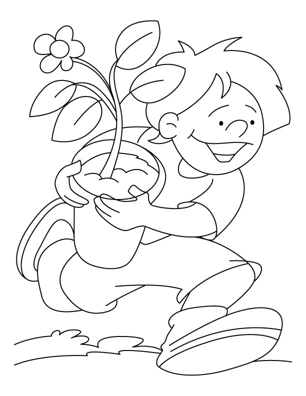 Arbor Day Coloring Pages for Kids