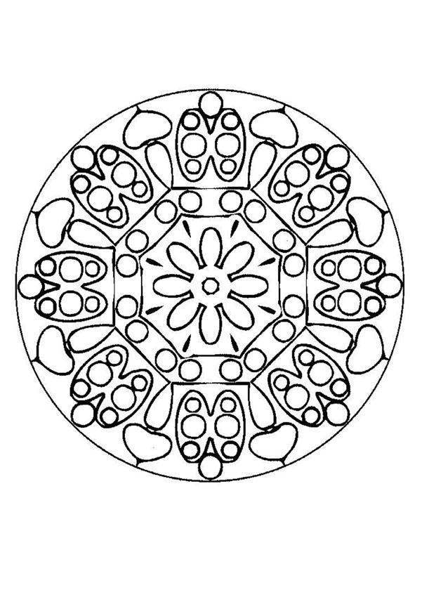 Mandalas for ADVANCED - Mandala 146