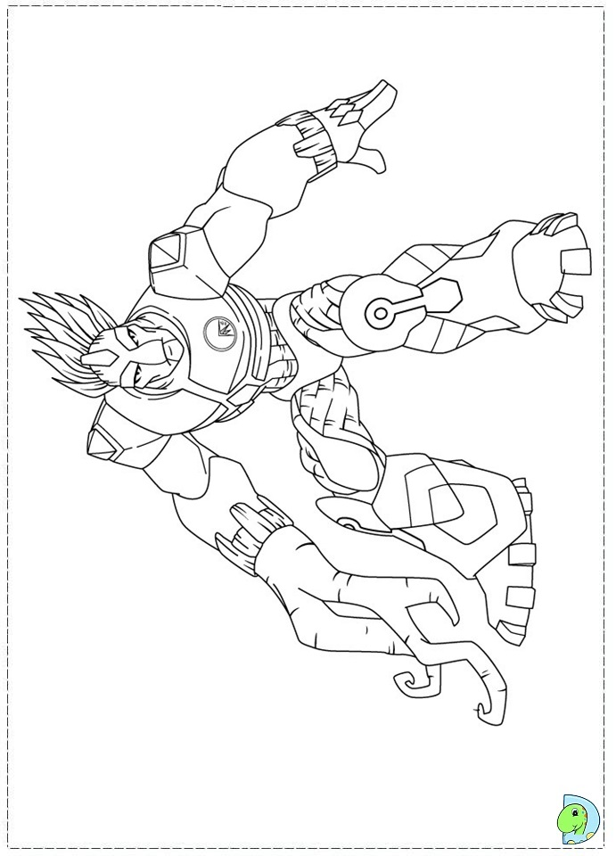 gormiti pintura Colouring Pages (page 3)
