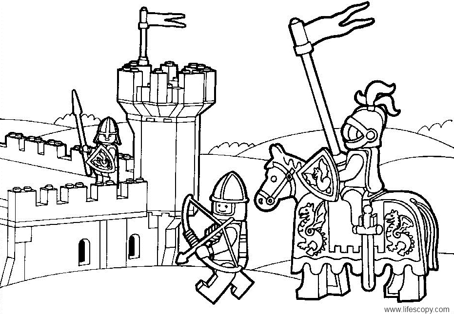 Lego City Coloring Pages | Coloring Pages