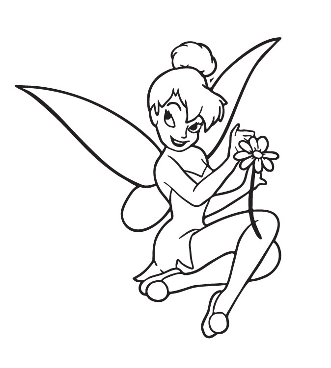 Tinkerbell Coloring Pages | ColoringMates.