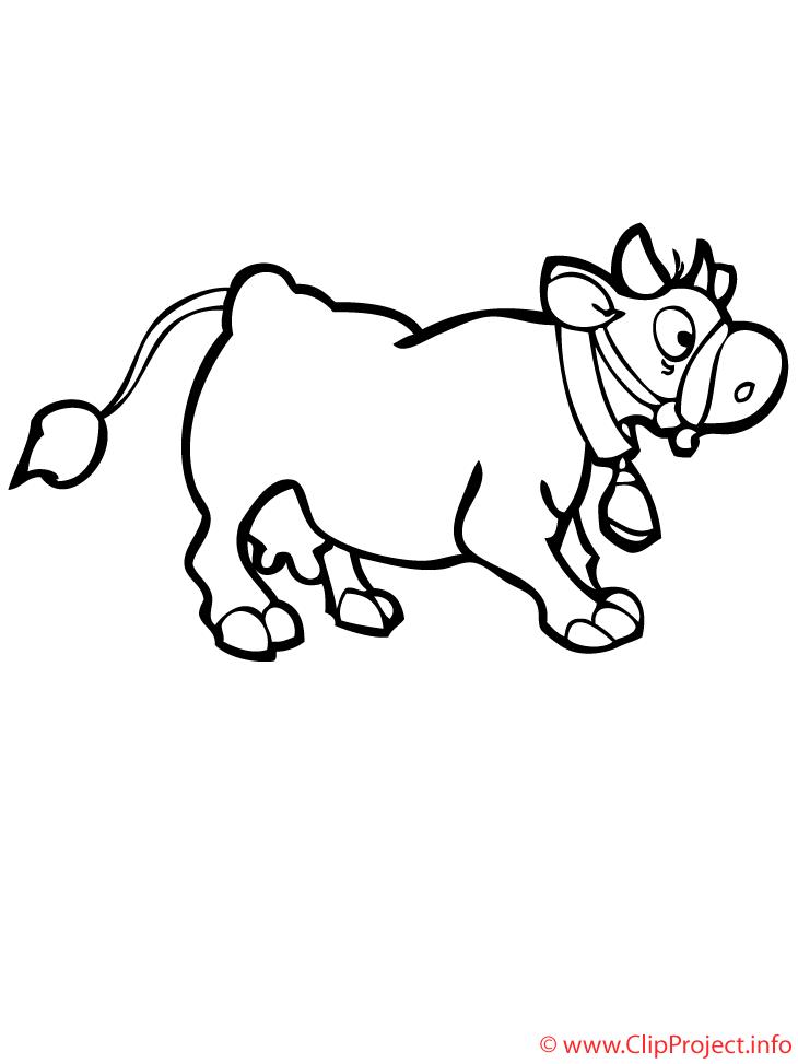 Dibujo De Una Vaca Para Colorear Az Dibujos Para Colorear